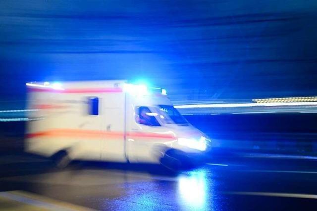 Vier Schwerverletzte bei Unfall auf der B 33 unweit der Vogtsbauernhöfe