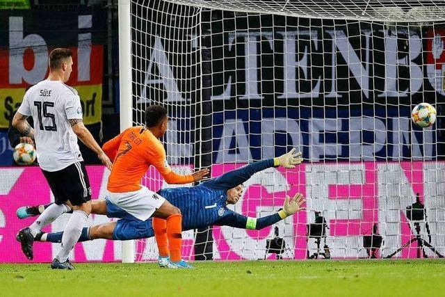 Bittere Pille: Deutschland verliert gegen die Niederlande mit 2:4