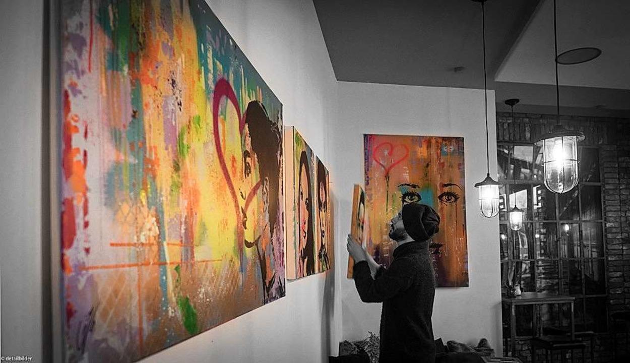 """Die Ausstellung """"Segundo capitul... Alvarez wird mit einer Band eröffnet.    Foto: Holger Dankelmann"""