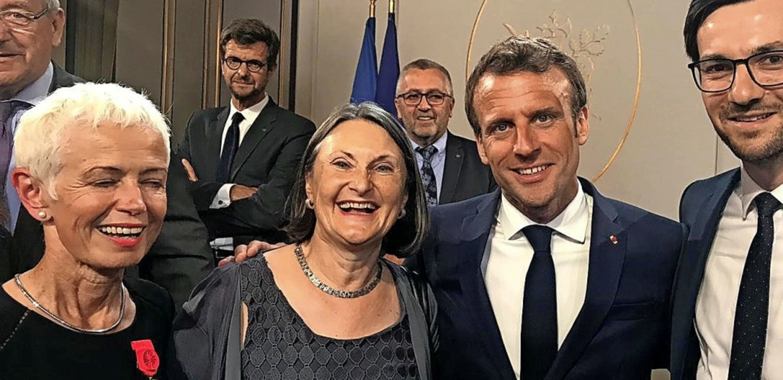 Brigitte Klinkert (links) ist seit 201...burger Oberbürgermeister Martin Horn.   | Foto: privat