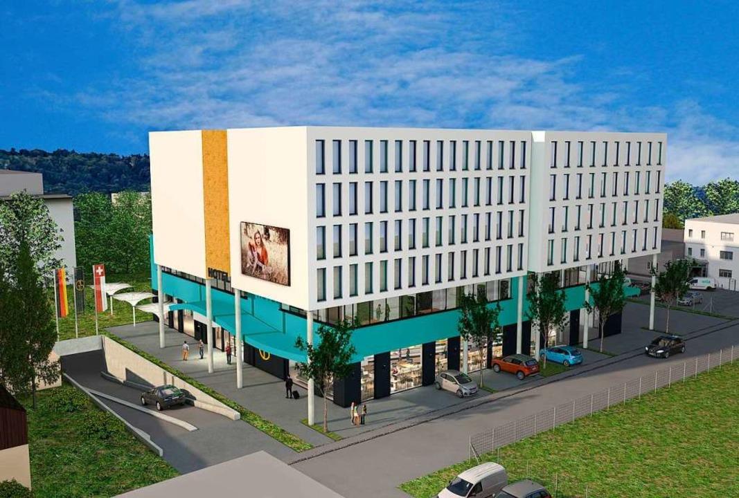Etwa so soll das Hotel aussehen.  | Foto: Veranstalter