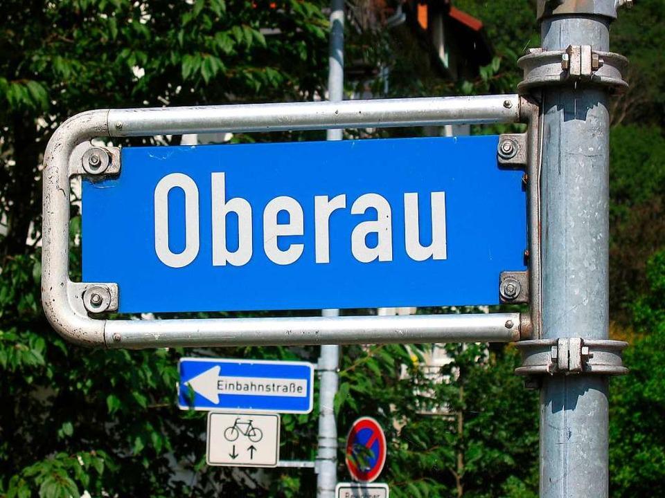 Eine Straße mitten im Quartier und der Stadtteil heißen gleich: Oberau.   | Foto: Arnd Henke