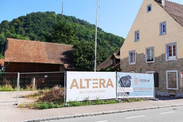 Beim ehemaligen Gasthaus Löwen in Grenzach-Wyhlen tut sich was