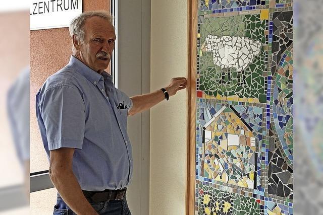 Harald Friedlin geht nach zehn Jahren als Hausmeister am Schulzentrum in Steinen in den Ruhestand