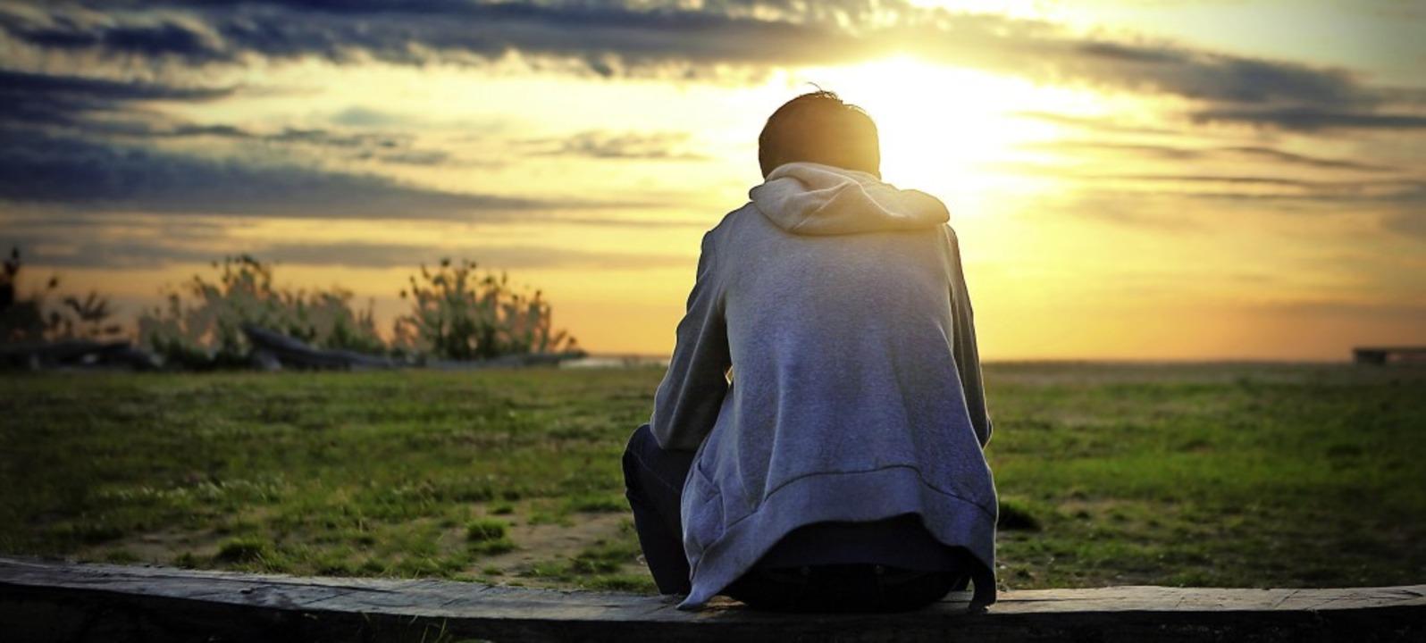 Licht am Horizont? Die Forschungsergeb... Hoffnung für die Depressionstherapie.  | Foto: Sabphoto - stock.adobe.com