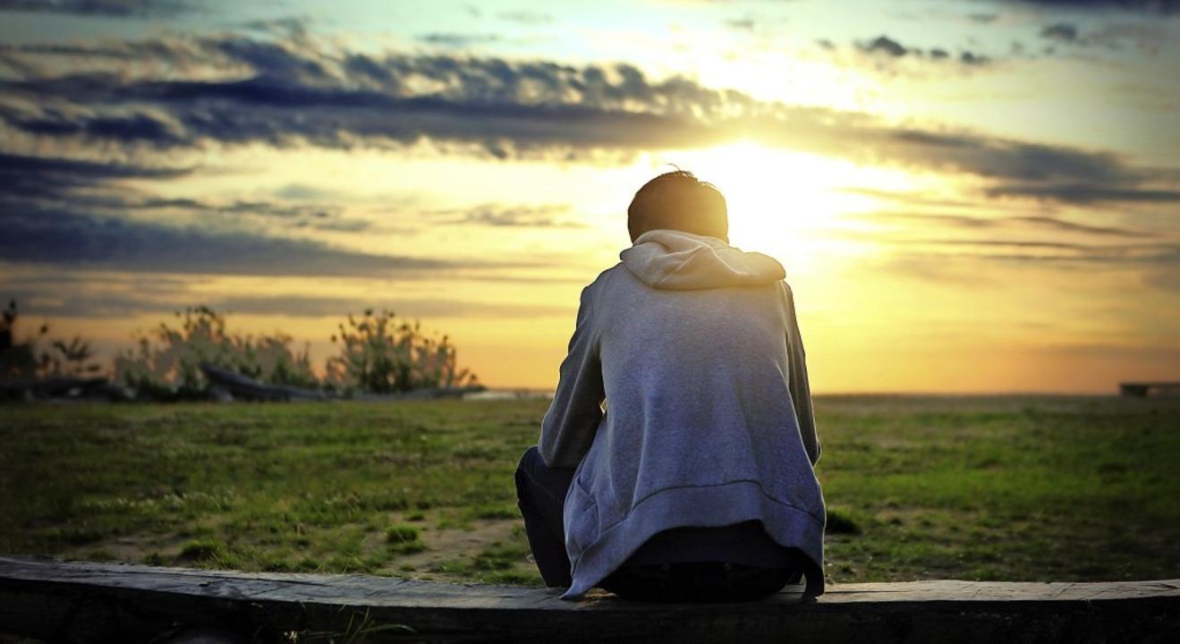 Licht am Horizont? Die Forschungsergeb... Hoffnung für die Depressionsthearpie.  | Foto: Sabphoto - stock.adobe.com