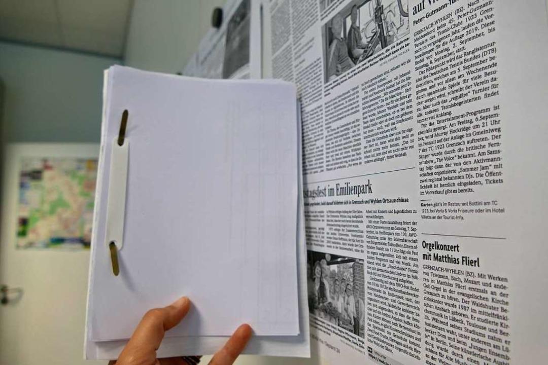 Blöcke aus Druckerpapier  | Foto: Verena Pichler