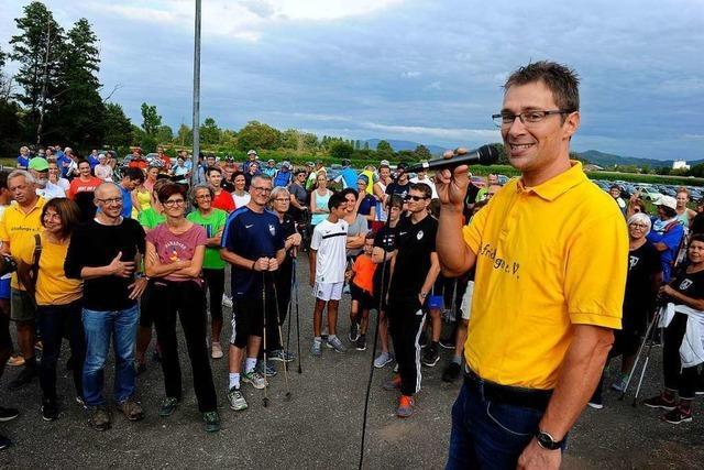 280 Teilnehmer beim Benefizlauf in Niederschopfheim