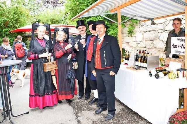 Winzer äußern sich beim Tüllinger Weinmarkt besorgt, wegen des Naturschutzes