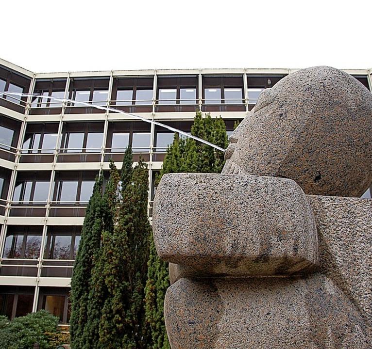 Ortstermin im Landratsamt   | Foto: hrö