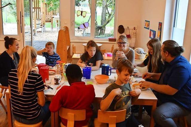 Zu Besuch beim Kinderferienprogramm der Lebenshilfe in Bötzingen
