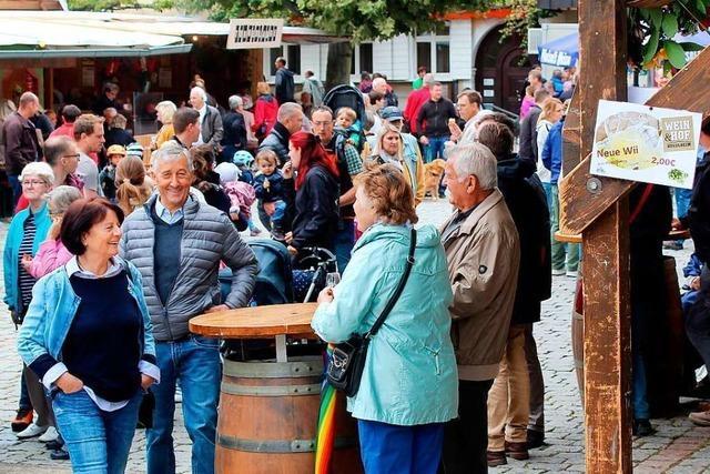 Das Kanderner Budenfest kommt bei Gästen und Vereinen gut an