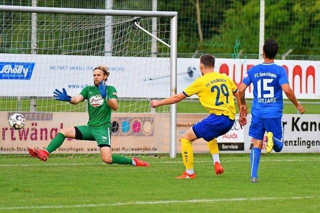 Eine gefühlte Niederlage für den FC Denzlingen im Derby gegen Waldkirch
