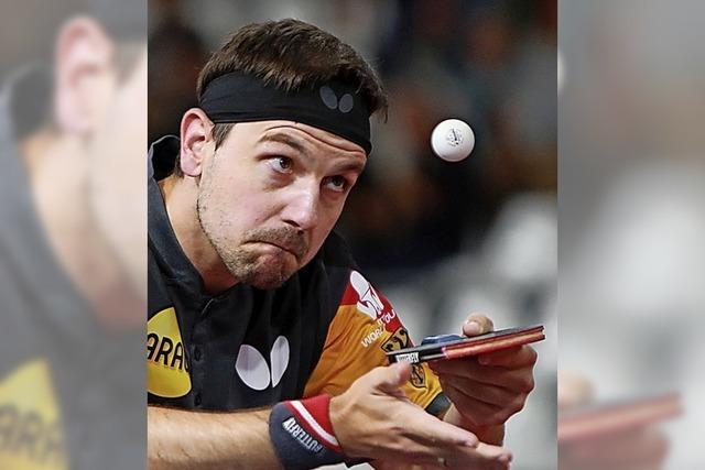 Dominant im europäischen Tischtennis