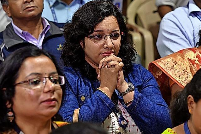 Indien bangt um Mondlander Vikram