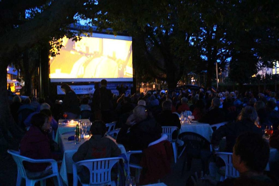 Drei Tage Open-Air-Kino im Schopfheimer Stadtpark.  | Foto: Monika Weber
