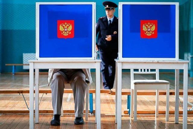 Kremlpartei verteidigt Mehrheit - mit Verlusten in Moskau