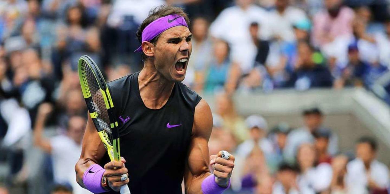 Raphael Nadal aus Spanien jubelt, nach...rte damit seinen 19. Grand-Slam-Titel.  | Foto: Charles Krupa (dpa)