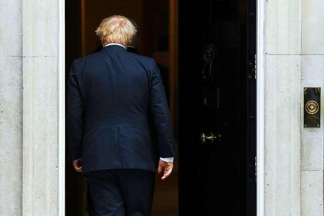 Premierminister Boris Johnson will Neuwahl durchdrücken