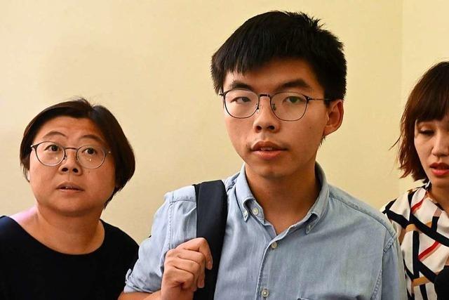 Hongkonger Aktivist ist wieder frei und auf dem Weg nach Deutschland