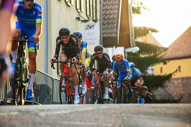 Beim Rennen in der Innenstadt traten 60 Radsportler in die Pedale