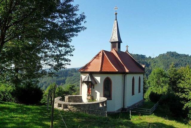 Seit 130 Jahren führt ein Weg zur Kreuzbergkapelle in Buchenbach