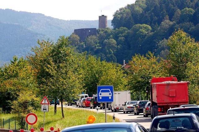 Sommerbergtunnel bei Hausach bis Dienstag 18 Uhr gesperrt
