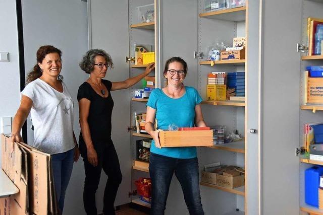 In Ehrenkirchen kommt Leben in die neue Gemeinschaftsschule mit Grundschule