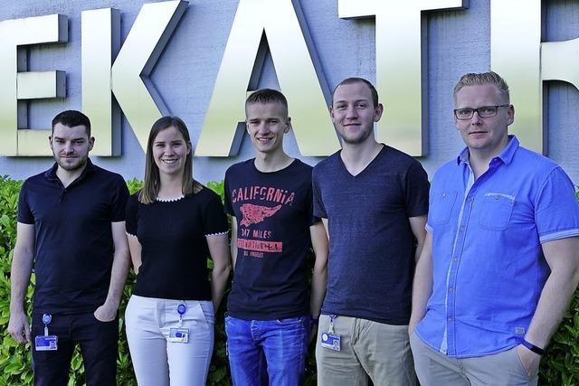 Auszubildende bei Firma Hekatron beteiligen sich am Projekt Digiscouts