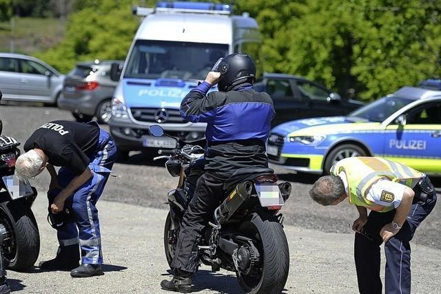 Viele Motorräder sind zu laut