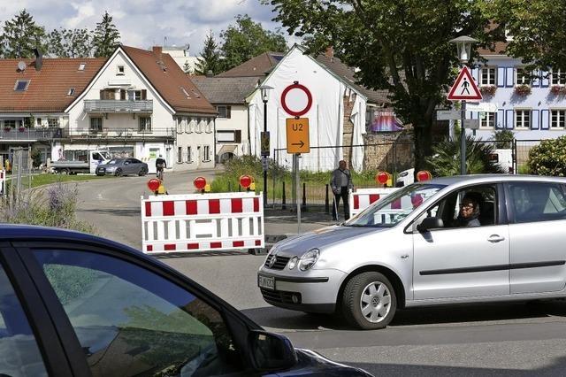 Bauarbeiten für neue Bad Krozinger Innenstadt haben begonnen