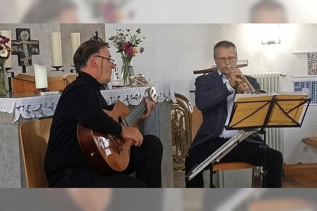Bossa Nova und Bach in der Kirche