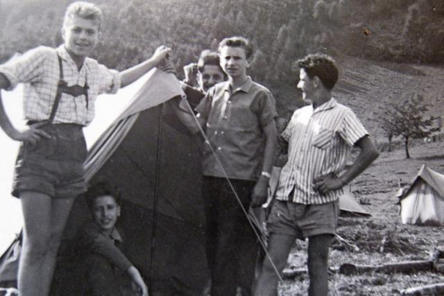 Als ein Gewitter die Zelte zerfetzte