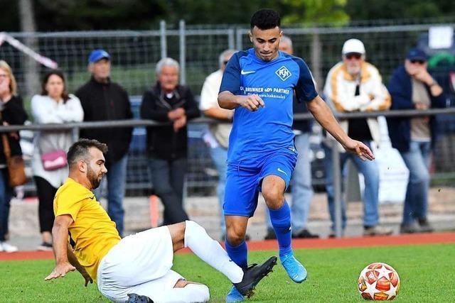 Markus Tritschler macht den Sieg für den FC Neustadt perfekt