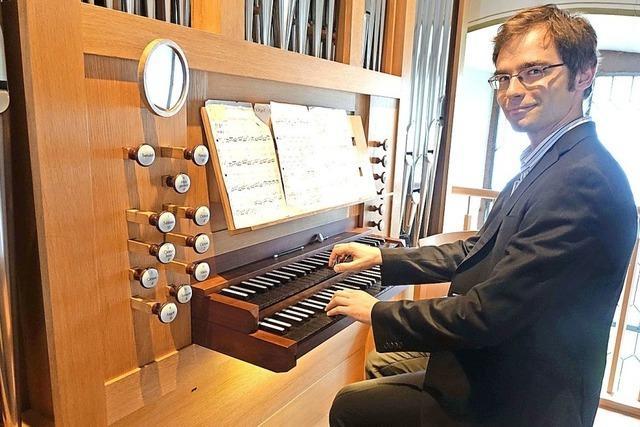 Energiegeladene Orgelkunst