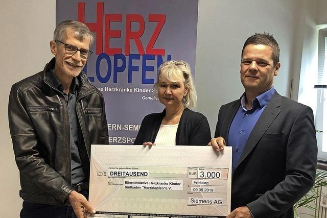 Siemens-Spende für