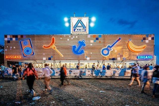 Vom Musikfestival bis zur Reality-Show: Aldi und Co. sind überall