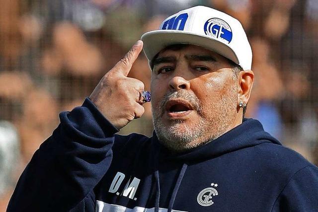 Diego Armando Maradona ist wieder da