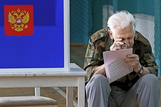Kremlpartei gewinnt, aber herbe Einbußen in Moskau