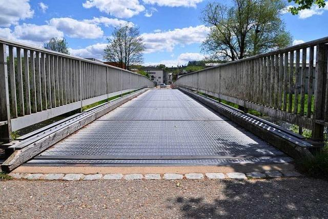 Die zweite Wiesenbrücke in Schopfheim ist vom Tisch
