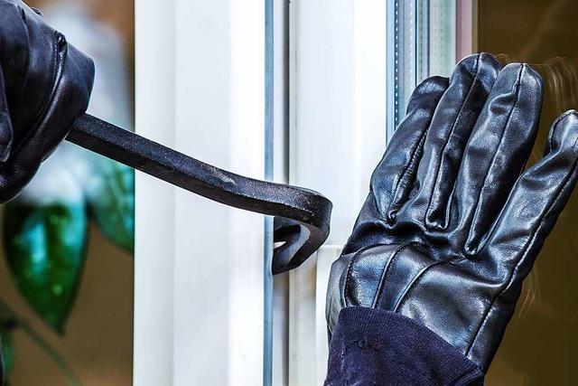 Polizei nimmt in Freiburg-Mooswald einen mutmaßlichen Einbrecher fest