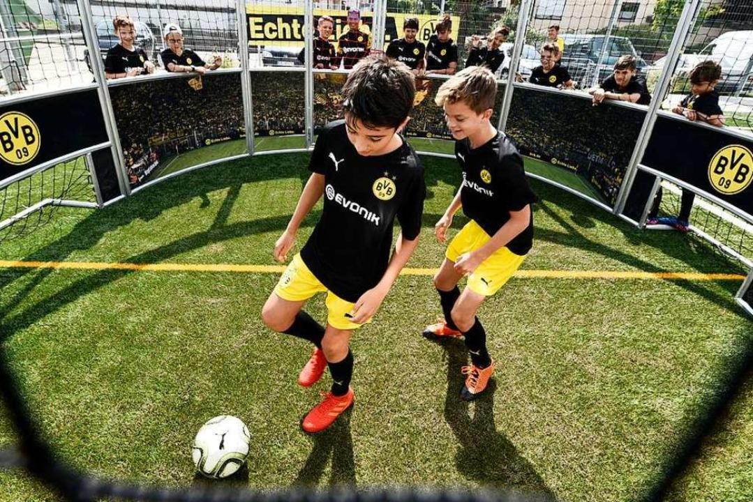 Das Fußballcamp ist für die Jugendspieler des SVH ein Highlight.    Foto: Thomas Kunz