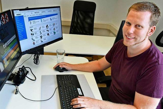 Onlinehändler Michael Ebner-Seibold: