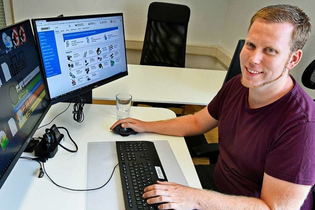 <ONL-Info>Michael Ebner-Seibold leitet...Onlineshop Zahnriemen24.de.</ONL-Info>  | Foto: Michael Bamberger