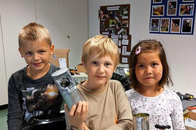 Horbener Kinder bauen Elektroschrott zu funktionierenden Geräten um