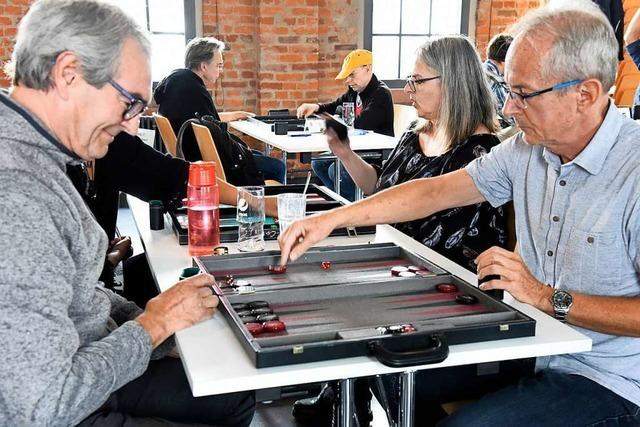 Seit 25 Jahren treffen sich Backgammon-Fans in Denzlingen