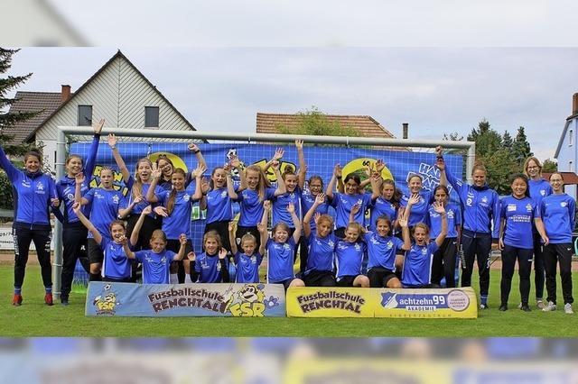 Mädchenfußballtag in Mahlberg