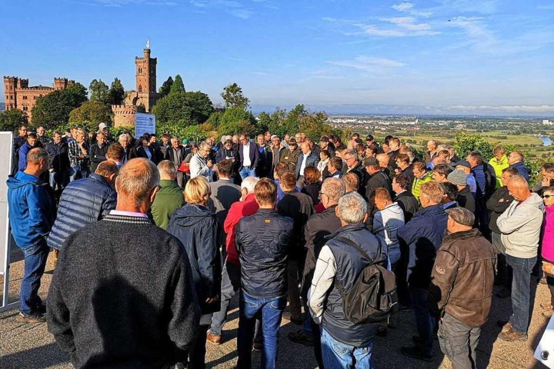 Im Zeichen des Ortenberger Schlosses d...r Wahlkreise folgen noch im September.  | Foto: Ralf Burgmaier