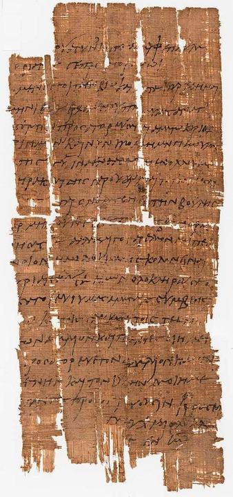 Seit mehr als 100 Jahren besitzt die U...okument aus dem römischen Ägypten ist.  | Foto: Uni Basel