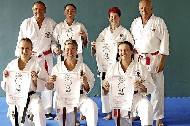 Breisacher Karateka zeigen gute Leistungen